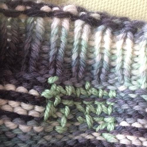 To Duplicate Stitch How Why Jill Wolcott Knits