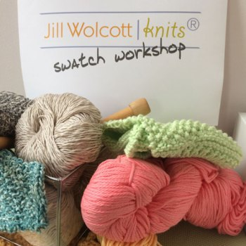 plant-fiber swatch workshop