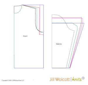 Grading Segment II: garments