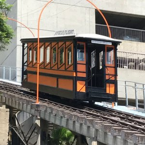 Filling the Well: LA Funicular (closed)