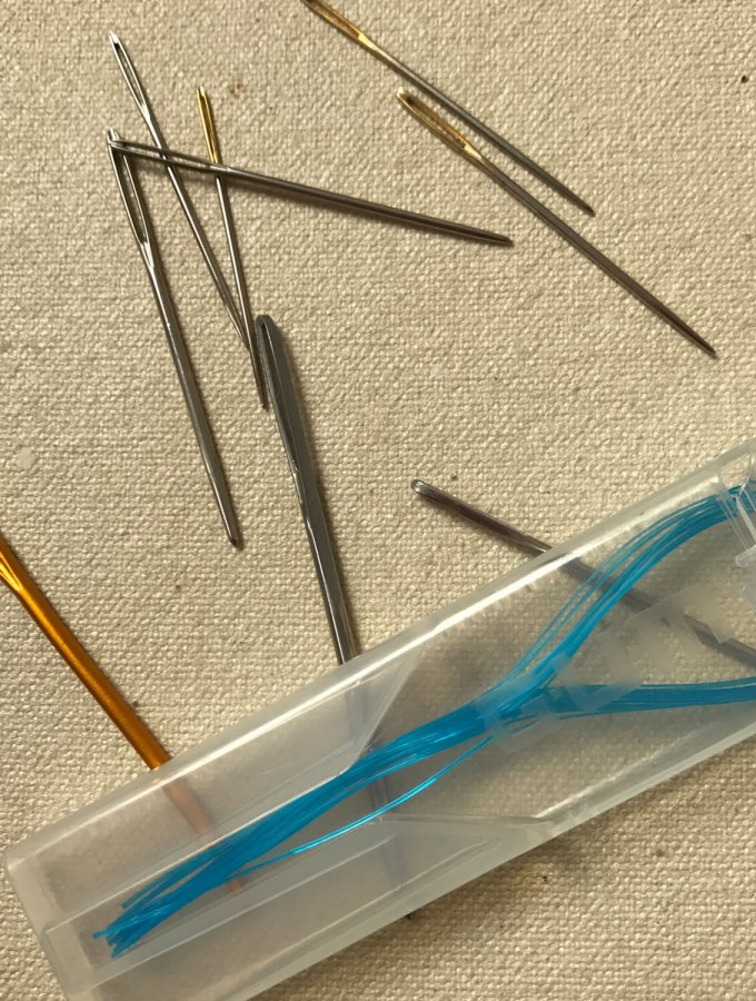 Buttons: Sewing Needles