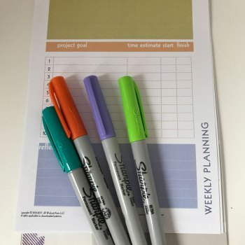 Project Planners: Setting Goals is the first step