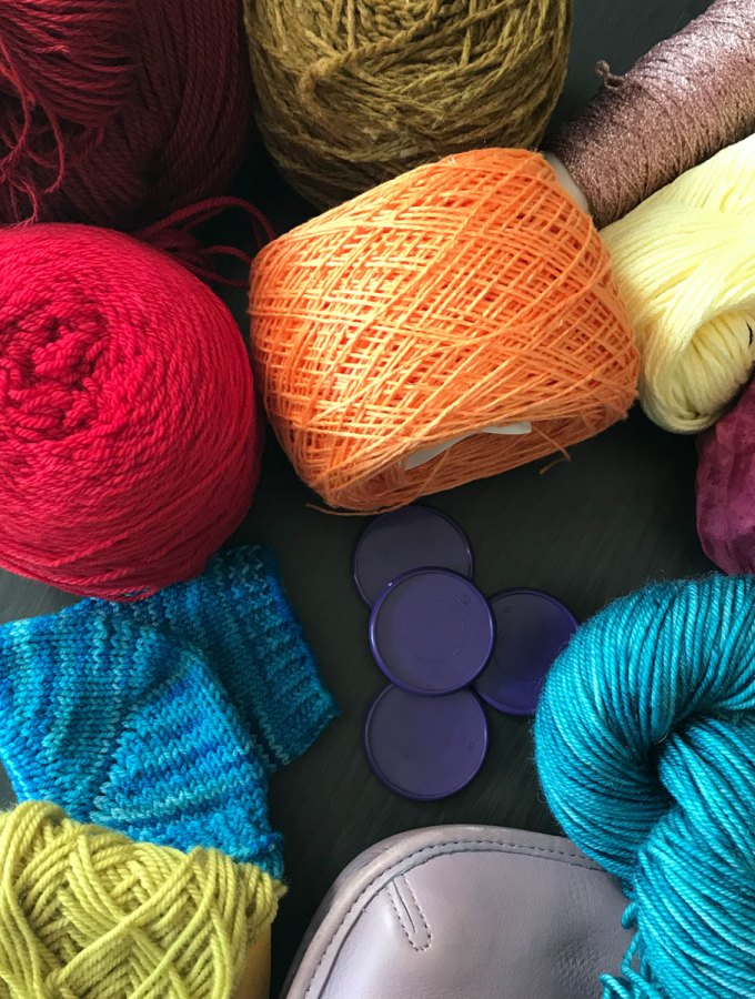 Autumn/Winter 2018 Colors: Yarn & other items