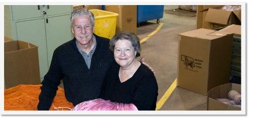 Yarn Fiber Processing: Brown Sheep Company