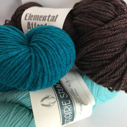 Yarn and Color: Brown Sheep and Elemental Affects do solid color dye