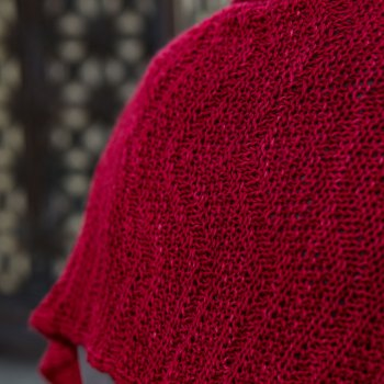 Savoie Shawl Seeded Chevron