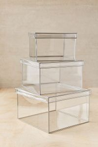 Kitchen Scale: clear boxes