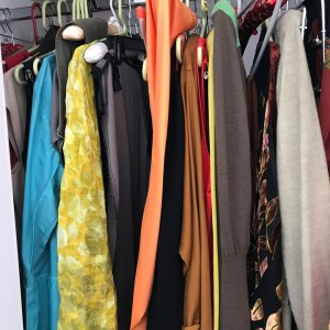 Slow Fashion: Long stuff in closet