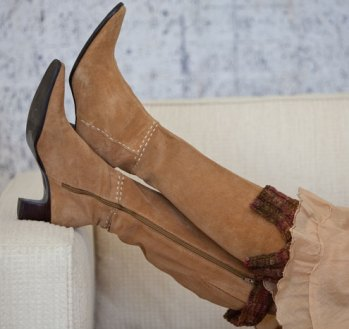 Flounce Boot Toppers