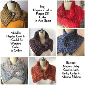 Naples Collar & Cowls Collage