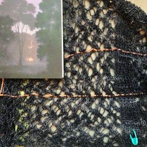 Sakai Knit-Along Fabric of Cardigan