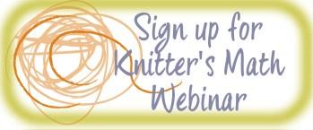 Knitter's Math Webinar