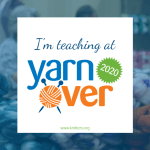 Teaching Goals: Yarnover Yoke Class