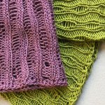 Featured Pattern Kaikoura in Thoreau and Linea from Crave