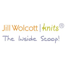 Jil Wolcott Knits Inside Scoop Logo