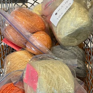 Stash Diving: balls and balls of mill ends