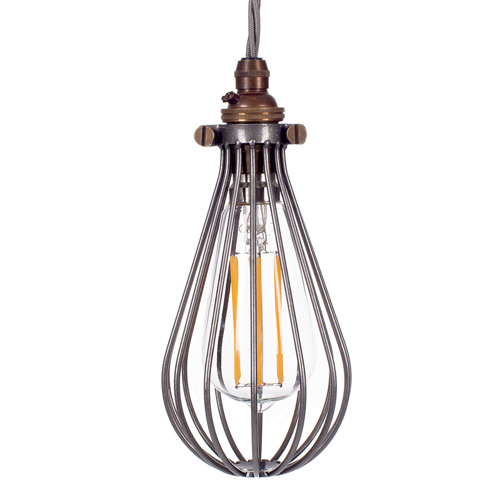 Cowely Polished Pendant Light