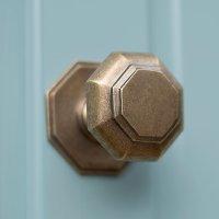 Antique Brass Front Door Knob | Hallway | Door Furniture ...