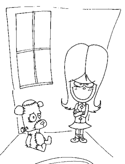 Dear Dumb Diary Coloring Pages Sketch Coloring Page