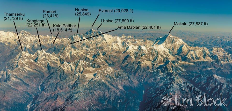 what is the name of the mountain range in nepal