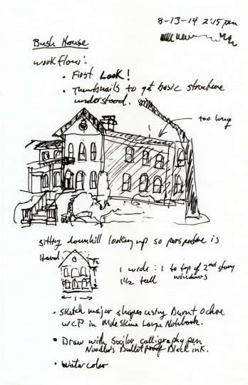 Bush House Notes