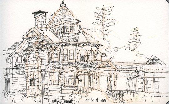 Deepwood Mansion Ink