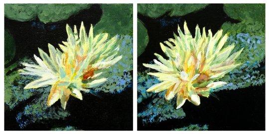 Acrylic Lilies