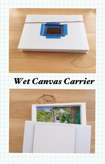 Wet Canvas Carrier