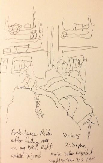 Ambulance Sketch