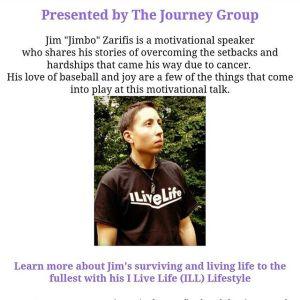Jimbo Motivational Speaker at the Journey Group's Event