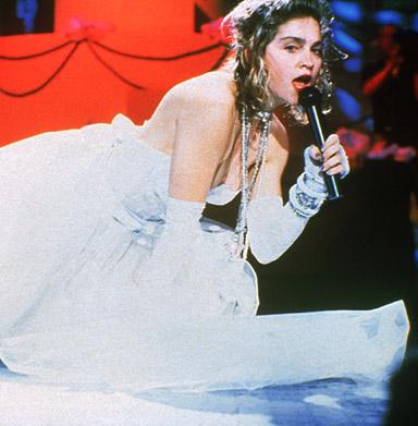 Madonna at the first VMAs