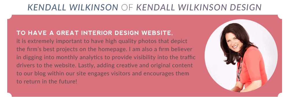 Pro Tips To Build A Beautiful Interior Design Website 8Days