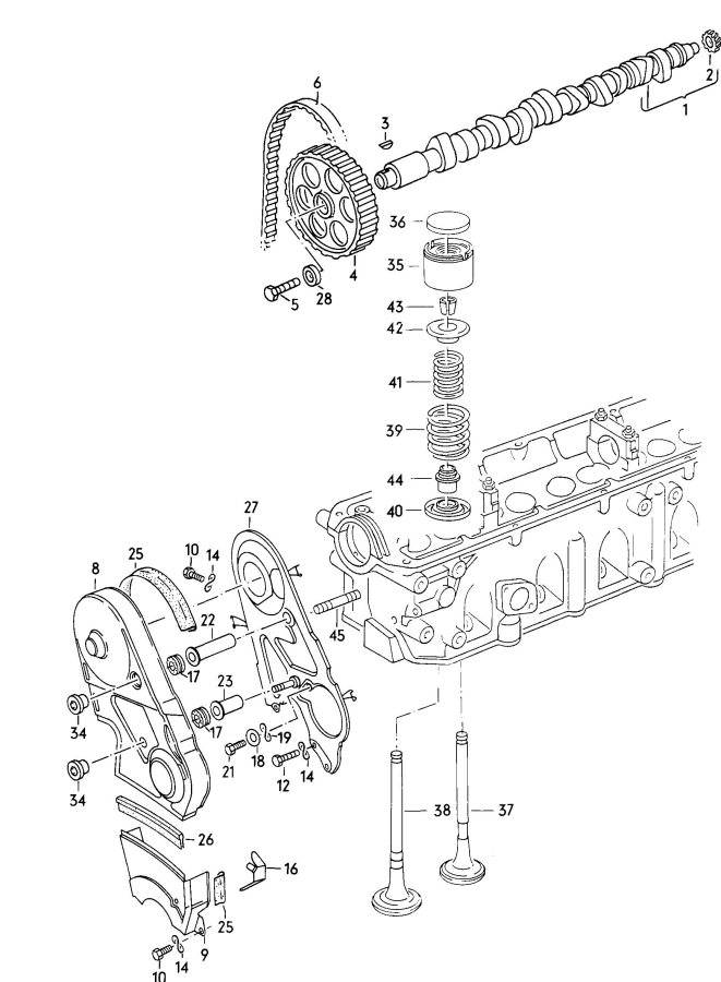 Service manual [1984 Audi 5000s Head Bolt Removal Diagram