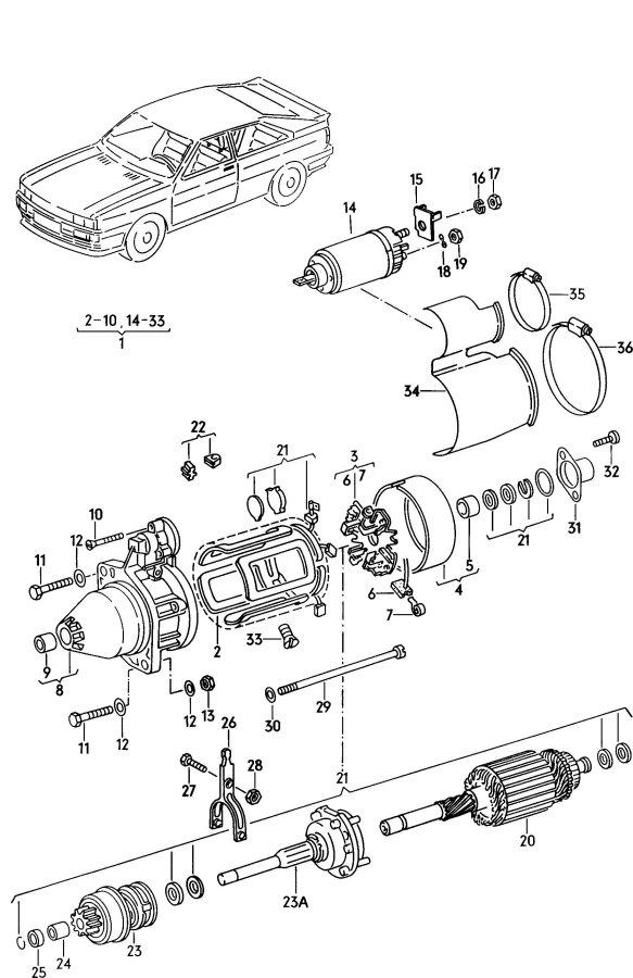 2001 Audi A4 Quattro Avant Freewheel transmission for