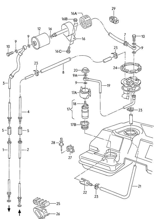 fwdt's 1990 V8Q Winter Beater :: motorgeek.com