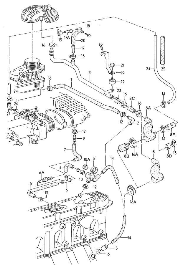 Audi 90 Quattro Flame deflector plate. Bleeder