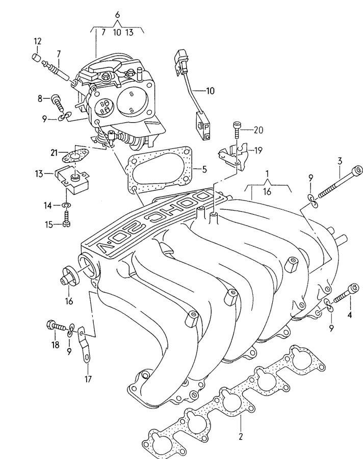 1990 Audi 80 Quattro Parts