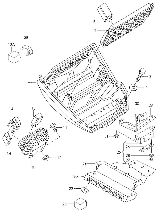 Fuse Box Audi Rs4. Audi. Auto Fuse Box Diagram