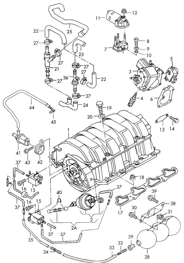 Audi A8 Quattro Solenoid valve. ELECTRO VALVE. CALIFORNIA