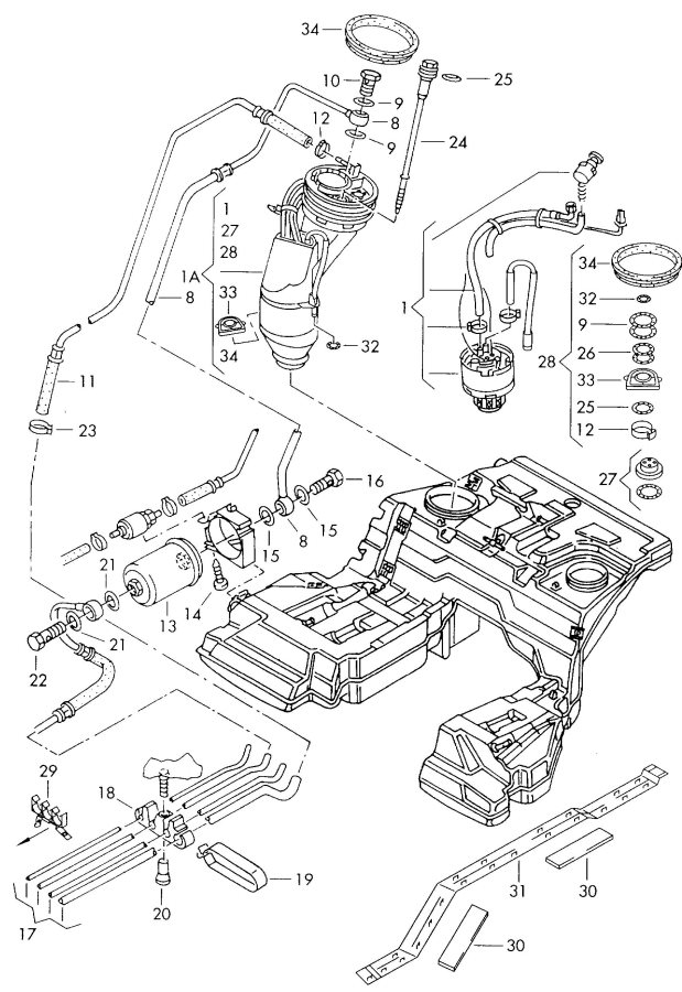 2010 Audi A8 Engine Diagram