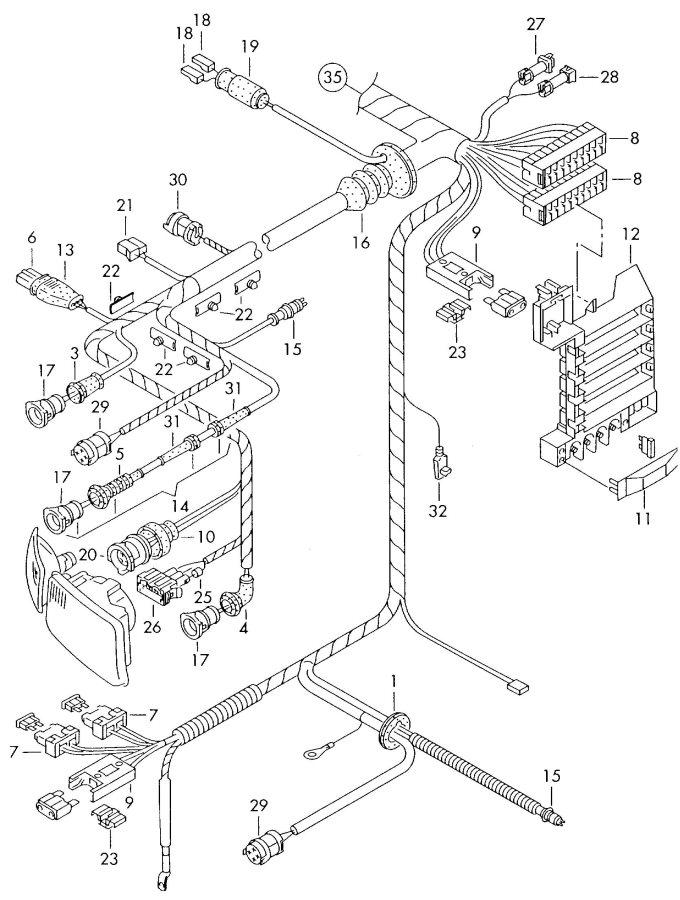 2001 Audi A8 Quattro Fuse Box. FUSE BOX. Boxrelay