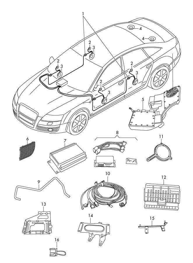 Audi S4 Stereo Wiring Diagram