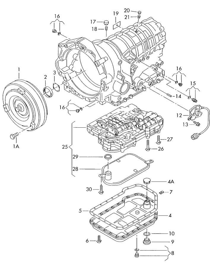 2004 Audi A6 Quattro Allroad Plug & Seal, Drain (Oil