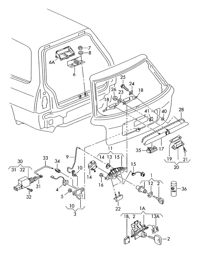 Service manual [How To Fix 2003 Jeep Wrangler Trunk Latch