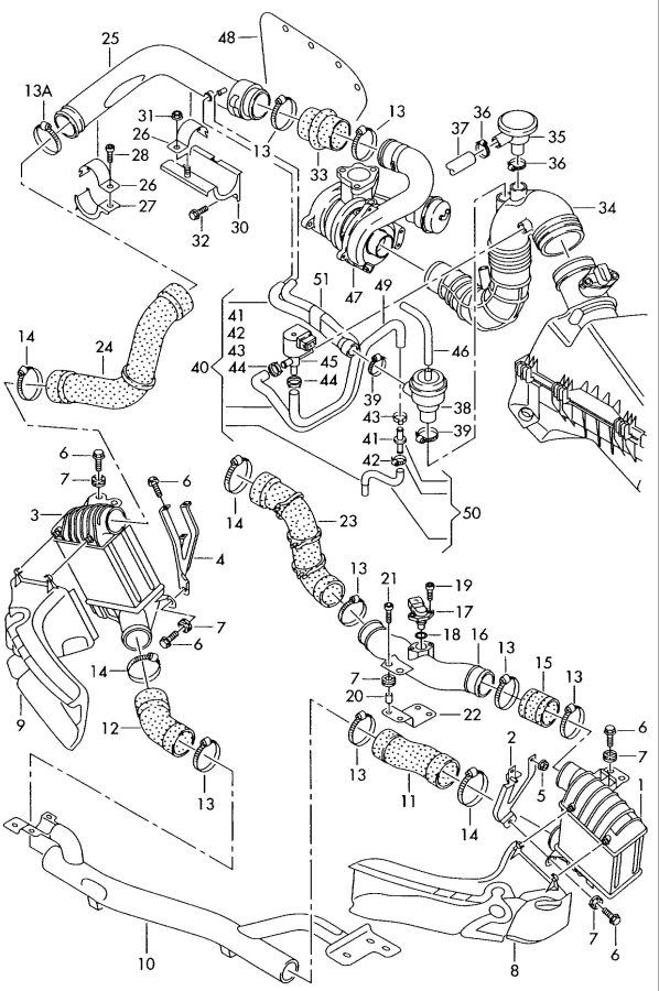 Audi TT Coupe Pressure controlline or for vehicles with