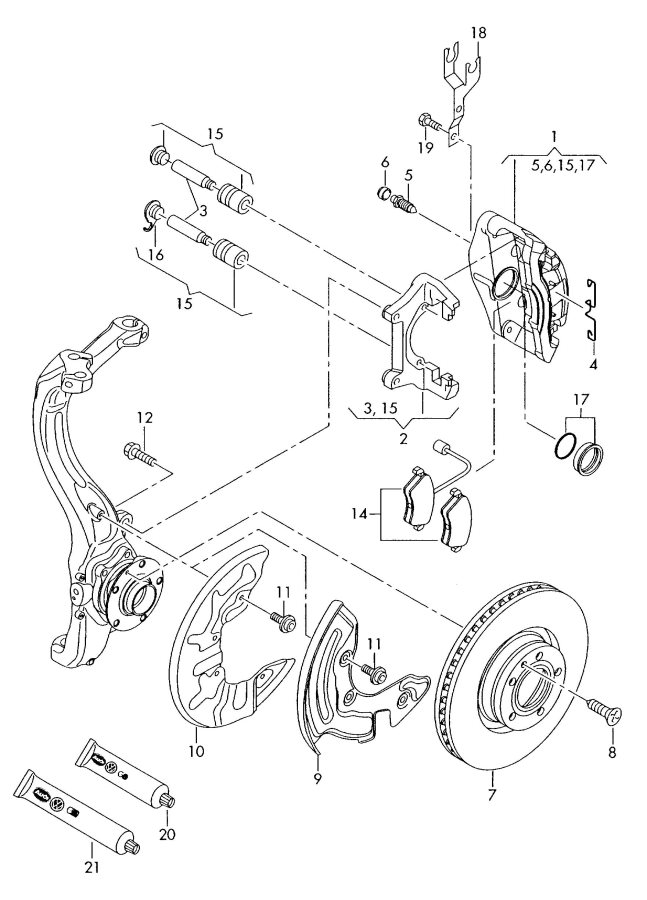Service manual [2011 Audi A6 Head Bolt Removal Diagram