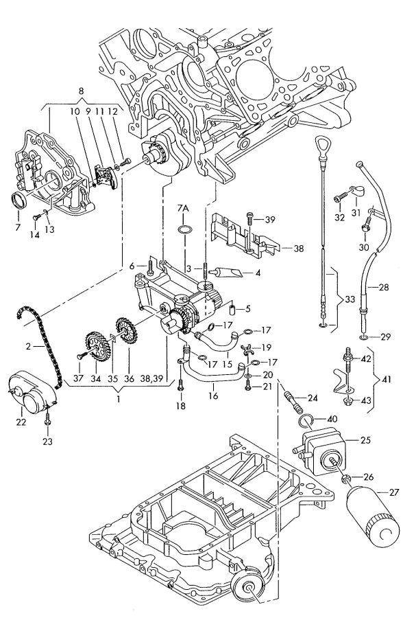 Audi Oil Pressure Sensor Location