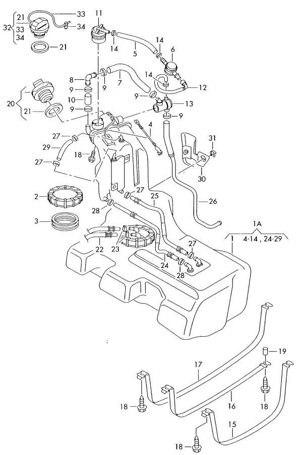 2002 Audi A6 Quattro Bleeder valve. Siphoning, ORVRand