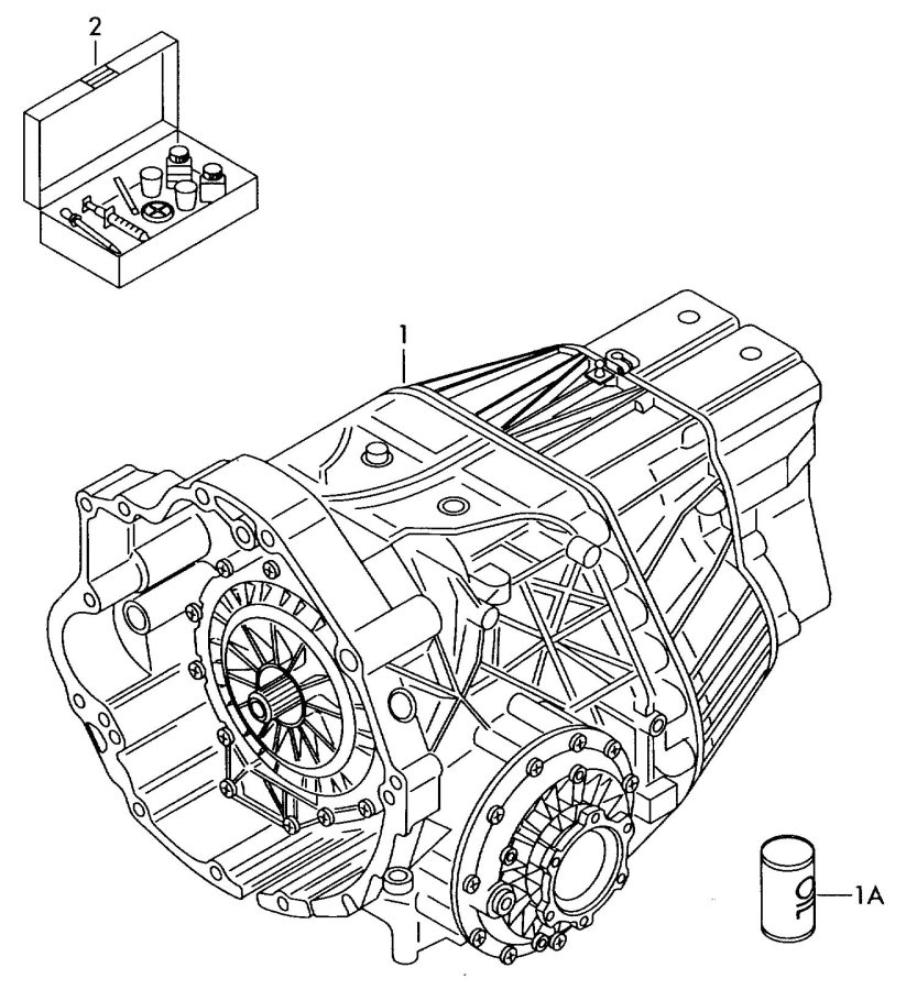 Audi A4 Quattro Continuously variable trans. transmission