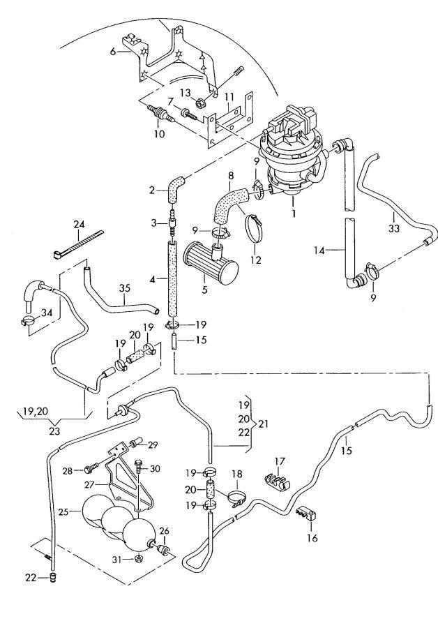 2002 Audi A6 Avant Hose. TXT. ORVRand, Siphoning